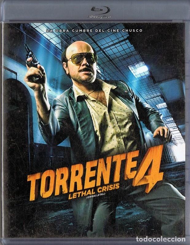 TORRENTE 4 LETHAL CRISIS (CRISIS LETAL) BLU-RAY (Cine - Películas - Blu-Ray Disc)