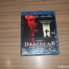 Cine: DRACULA II RESURRECCION BLU-RAY DISC NUEVO PRECINTADO. Lote 180086930