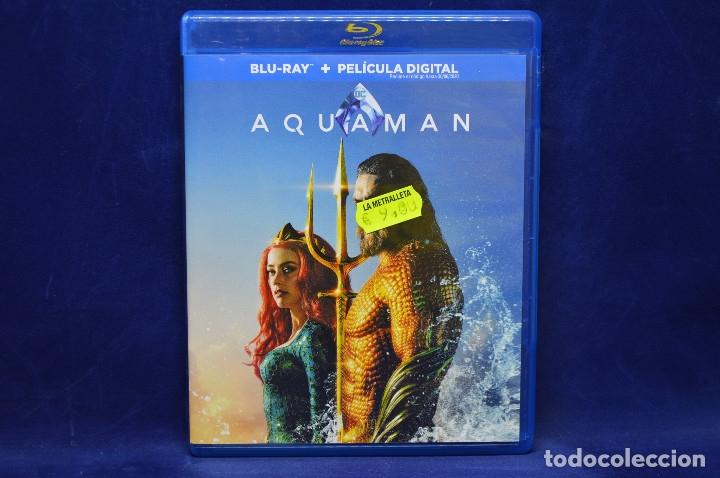 AQUAMAN - BLU RAY (Cine - Películas - Blu-Ray Disc)