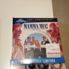 Cine: G-CDM54 BLUE RAY DISC NUEVO PRECINTADO MAMMA MIA THE MOVIE EDICION LIMITADA. Lote 180204775