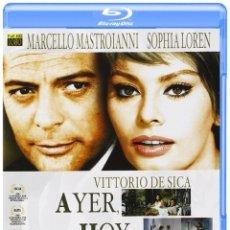 Cine: AYER, HOY Y MAÑANA - VITTORIO DE SICA. Lote 180235798