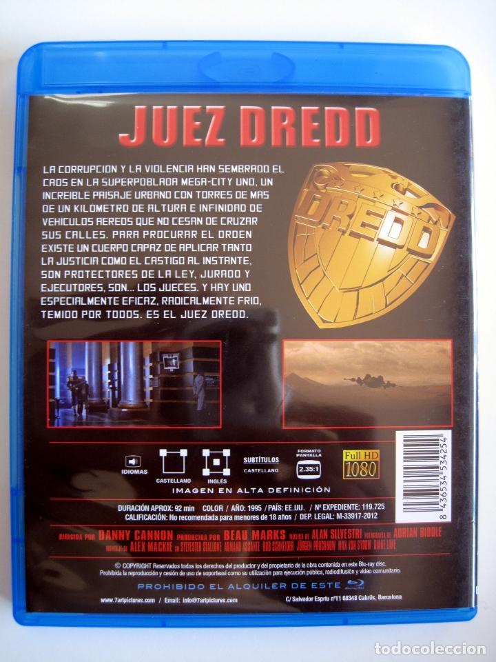 Cine: JUEZ DREDD • Blu-ray • STALLONE - Foto 2 - 180266770