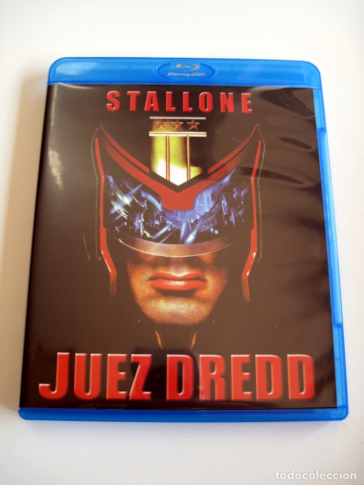 JUEZ DREDD • BLU-RAY • STALLONE (Cine - Películas - Blu-Ray Disc)