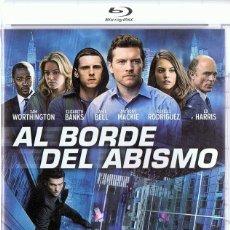 Cine: AL BORDE DEL ABISMO ED HARRIS (BLU - RAY). Lote 180480095