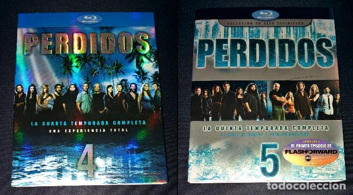 PERDIDOS (LOST) FUNDAS SIN CAJAS NI DISCOS TEMPORADAS 4 5 BLURAY BLU-RAY BLU RAY FUNDA SLIPCOVER (Cine - Películas - Blu-Ray Disc)