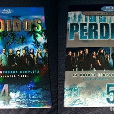 Cine: PERDIDOS (LOST) FUNDAS SIN CAJAS NI DISCOS TEMPORADAS 4 5 BLURAY BLU-RAY BLU RAY FUNDA SLIPCOVER. Lote 110752379