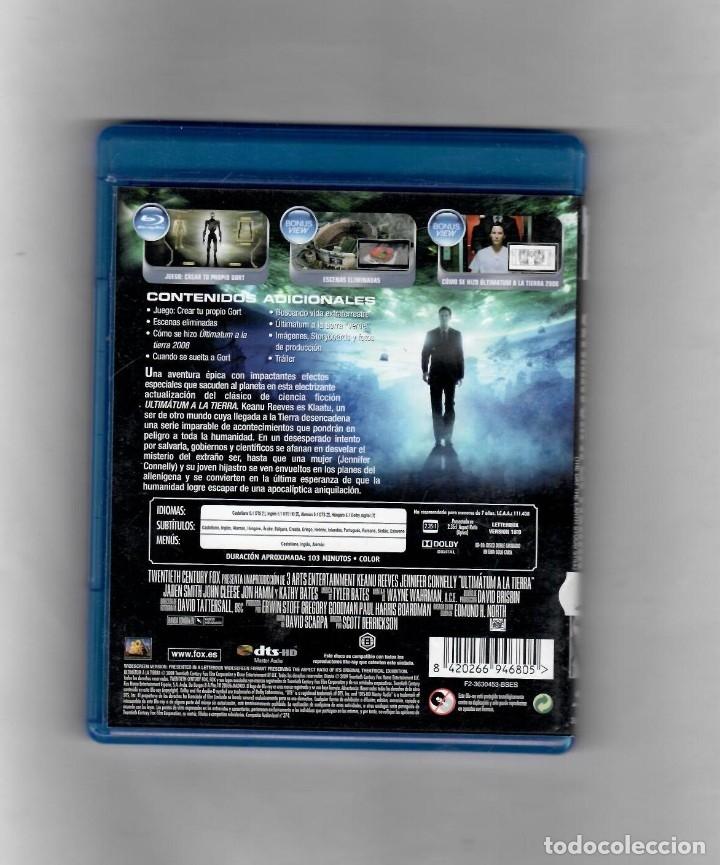 Cine: Ultimátum a la Tierra -BLU-RAY - VERSION DE ALQUILER COMO NUEVO - Foto 2 - 89846246
