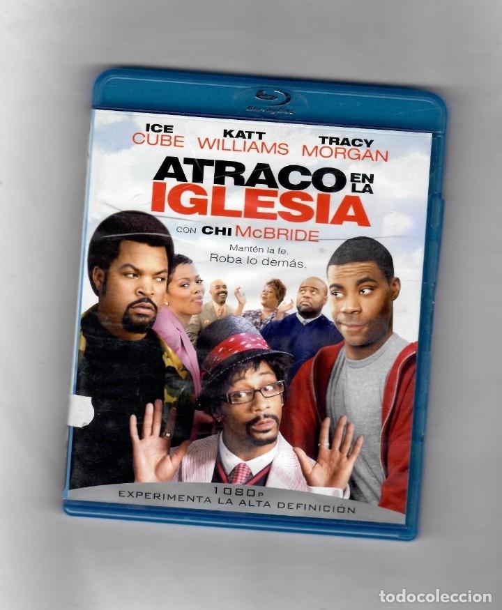 ATRACO EN LA IGLESIA - BLU-RAY - VERSION DE ALQUILER - MUY BIEN (Cine - Películas - Blu-Ray Disc)