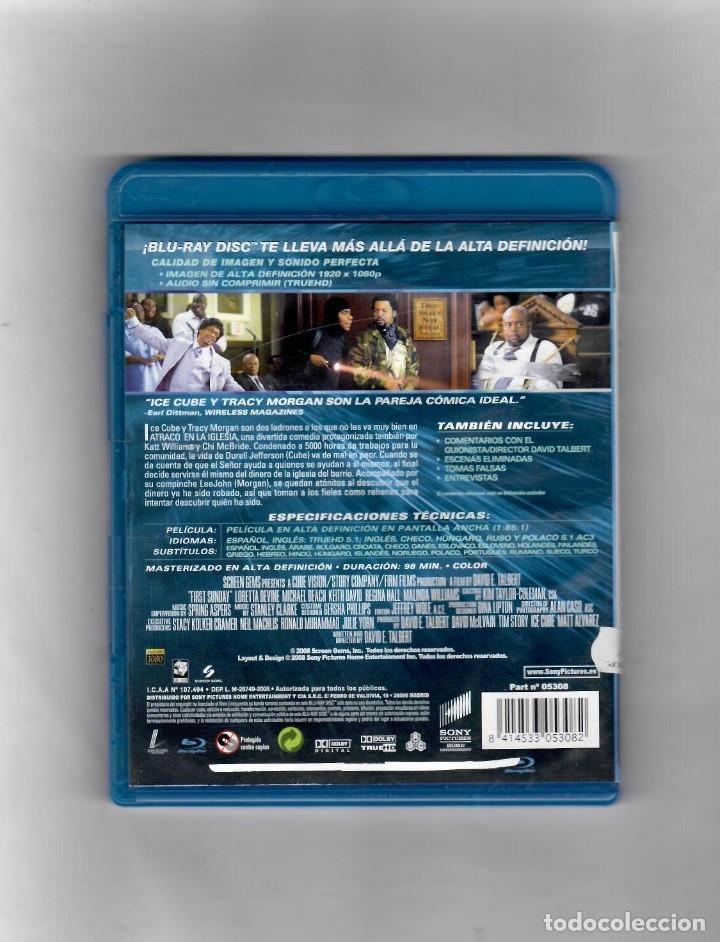 Cine: Atraco en la Iglesia - BLU-RAY - VERSION DE ALQUILER - MUY BIEN - Foto 2 - 49471834