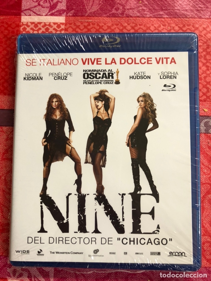 NINE BLURAY PRECINTADO (Cine - Películas - Blu-Ray Disc)