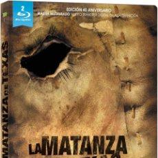 Cine: LA MATANZA DE TEXAS ED 40 ANIVERSARIO BLURAY - BLURAY NUEVO Y PRECINTADO. Lote 181736186