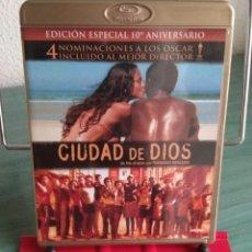Cine: CIUDAD DE DIOS EN BLU RAY // PROMOCIÓN EN LOS ENVÍOS. LEER DESCRIPCIÓN. Lote 181868185