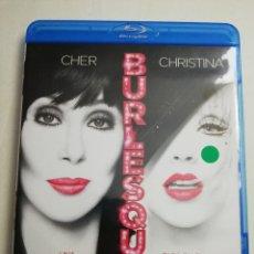 Cine: BURLESQUE (CHER / CHRISTINA AGUILERA) BLU RAY DISC. Lote 182433163