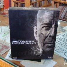 Cine: JUNGLA DE CRISTAL - COLECCIÓN COMPLETA (BLU-RAY). Lote 182572751