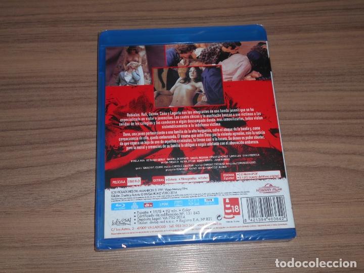 Cine: Los VIOLADORES del AMANECER BLU-RAY DISC Nuevo PRECINTADO - Foto 2 - 211519592