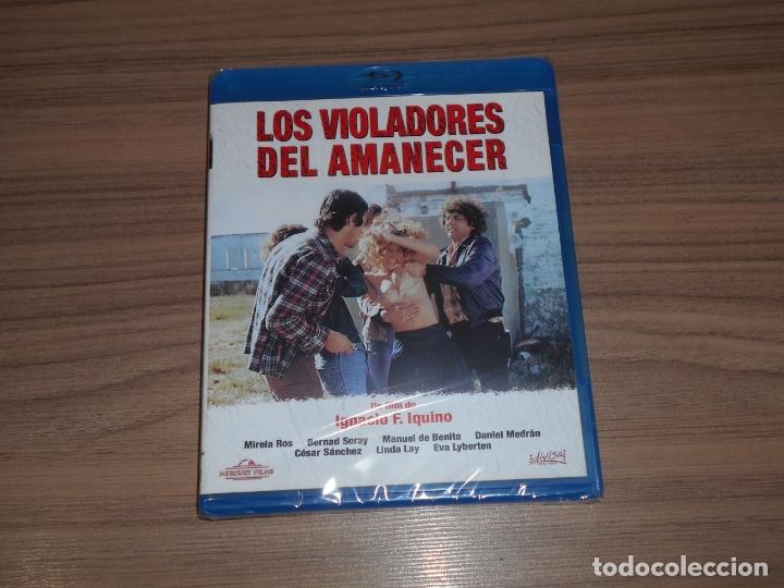 LOS VIOLADORES DEL AMANECER BLU-RAY DISC NUEVO PRECINTADO (Cine - Películas - Blu-Ray Disc)