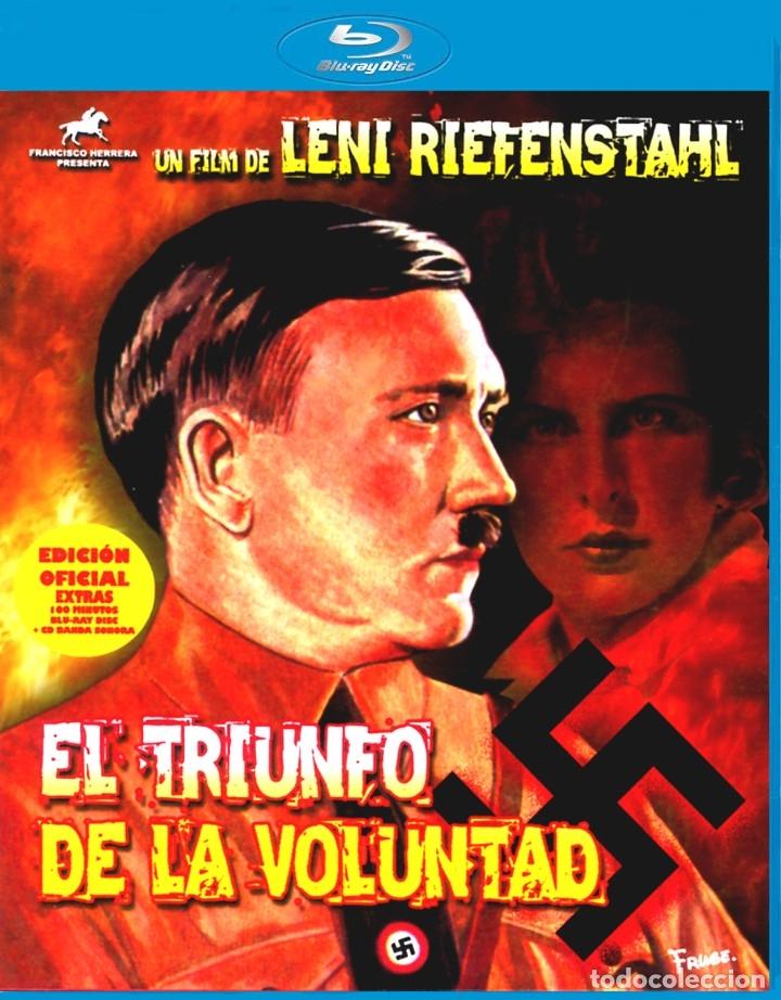 EL TRIUNFO DE LA VOLUNTAD LENI RIEFENSTAHL BLU-RAY BD + CD BANDA SONORA EDICIÓN OFICIAL (Cine - Películas - Blu-Ray Disc)