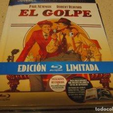 Cine: EL GOLPE ED.LIMITADA 100 ANIVERSARIO COLECCIONES BLU RAY NUEVO PLASTIFICADO DE TIENDA. Lote 183506998