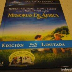Cine: MEMORIAS DE AFRICA ED.LIMITADA 100 ANIVERSARIO SERIE DE COLECCIONES CON LIBRETO Y EXTRAS NUEVA Y PLA. Lote 183507263