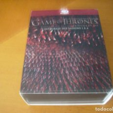 Cine: GAME OF THRONES / L'INTEGRALE DES SAISONS 1 A 4 / BLU - RAY 19 DISCOS. Lote 183529828
