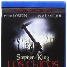 Cine: LOS CHICOS DEL MAÍZ. CHILDREN OF THE CORN. STEPHEN KING. EDICIÓN ESPECIAL CON EXTRAS. BLURAY. NUEVO.. Lote 184018195