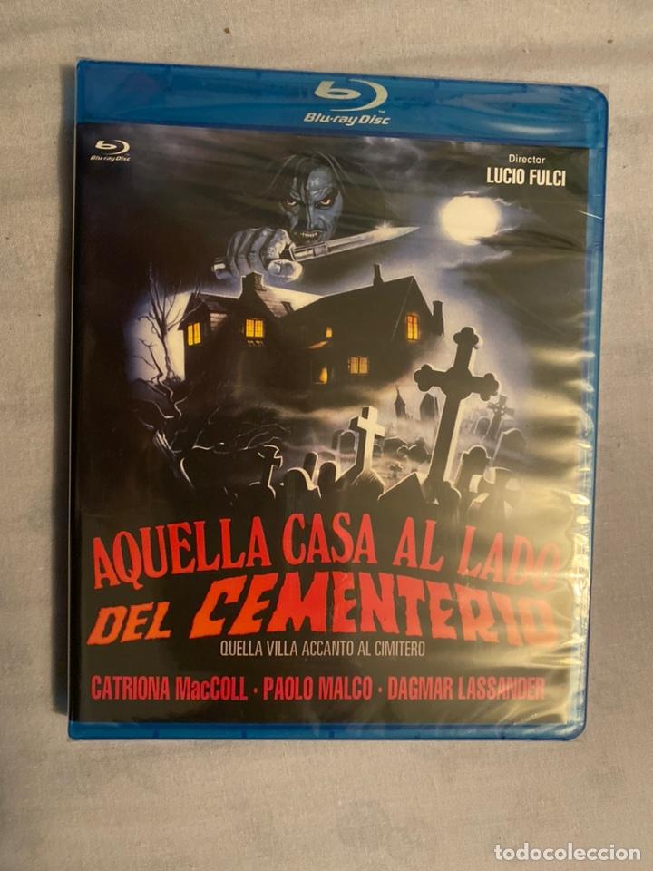AQUELLA CASA AL LADO DEL CEMENTERIO BLURAY PRECINTADO (Cine - Películas - Blu-Ray Disc)