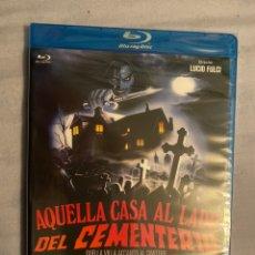 Cine: AQUELLA CASA AL LADO DEL CEMENTERIO BLURAY PRECINTADO. Lote 184163421