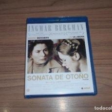Cine: SONATA DE OTOÑO BLU-RAY DISC DE INGMAR BERGMAN INGRID BERGMAN LIV ULLMANN NUEVO PRECINTADO. Lote 221874170