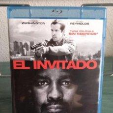 Cine: EL INVITADO (SAFE HOUSE) EN BLU RAY // PROMOCIÓN EN LOS ENVÍOS. LEER DESCRIPCIÓN. Lote 154321070