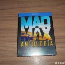 Cine: MAD MAX 1 - 2 - 3 Y 4 ANTOLOGIA COLECCION COMPLETA CAJA METALICA 4 BLU-RAY DISC NUEVO PRECINTADO. Lote 206186985