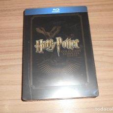 Cine: HARRY POTTER LA COLECCION COMPLETA EDICION METALICA 8 BLU-RAY DISC 8 PELICULAS NUEVA PRECINTADA. Lote 227906510