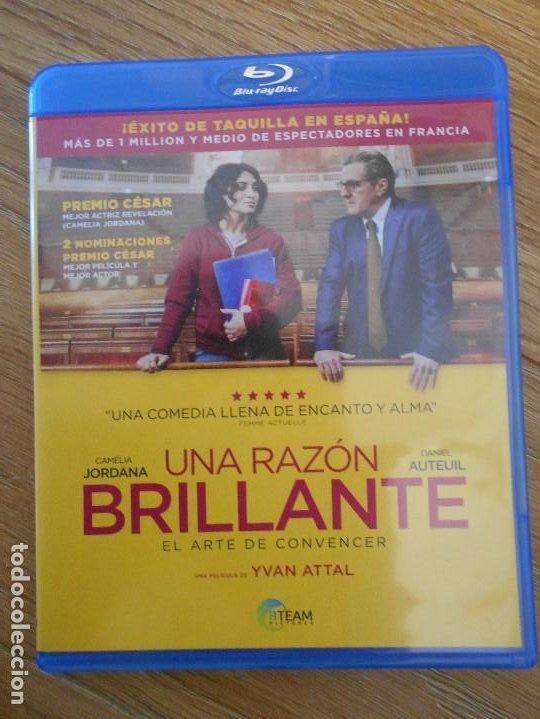 UNA RAZON BRILLANTE. EL ARTE DE CONVENCER. BLURAY DE LA PELICULA DE YVAN ATTAL. CON CAMELIA JORDANA (Cine - Películas - Blu-Ray Disc)