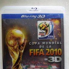 Cine: COPA MUNDIAL DE LA FIFA 2010 EN 3D. SUDÁFRICA 2010. BLU-RAY PROMOCIONAL.. Lote 184856256