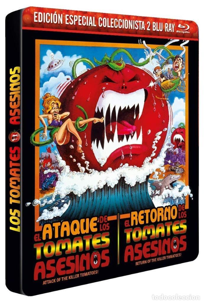 EL ATAQUE DE LOS TOMATES ASESINOS + EL RETORNO DE LOS TOMATES ASESINOS - PRECINTADA (Cine - Películas - Blu-Ray Disc)