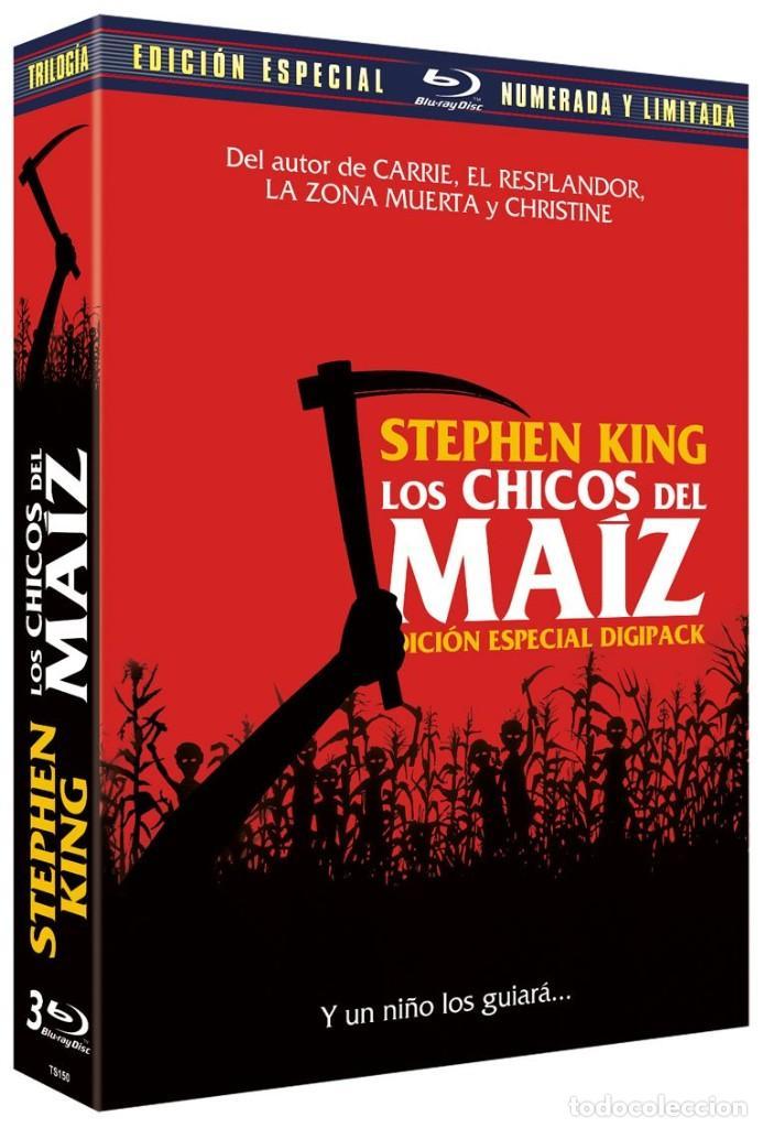 PACK LOS CHICOS DEL MAIZ I -II -III - EDICION ESPECIAL NUMERADA Y LIMITADA - PRECINTADA (Cine - Películas - Blu-Ray Disc)