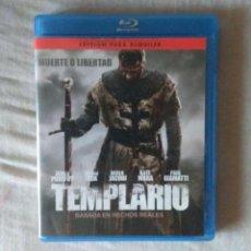 Cine: BLU RAY TEMPLARIO // ENVIO CERTIFICADO INCLUIDO. Lote 185694405