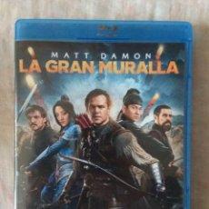 Cine: BLU RAY LA GRAN MURALLA // ENVIO CERTIFICADO INCLUIDO. Lote 185699838