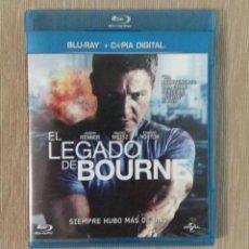 Cine: BLU RAY EL LEGADO DE BOURNE // ENVIO CERTIFICADO INCLUIDO. Lote 185701762