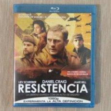 Cine: BLU RAY RESISTENCIA // ENVIO CERTIFICADO INCLUIDO. Lote 185701872