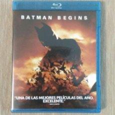 Cine: BLU RAY BATMAN BEGINS // ENVIO CERTIFICADO INCLUIDO. Lote 185702062