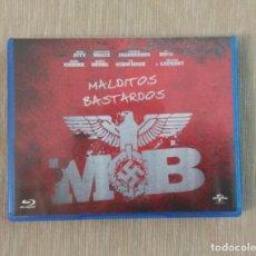 Cine: BLU RAY MALDITOS BASTARDOS // ENVIO CERTIFICADO INCLUIDO. Lote 185702261