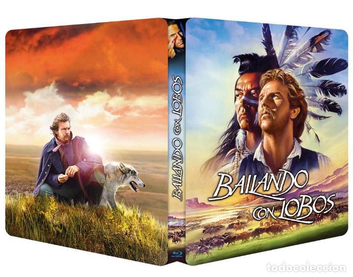 Cine: BAILANDO CON LOBOS Edicion Limitada Numerada METALICA BLU-RAY DISC + DVD + POSTALES Nuevo PRECINTADO - Foto 6 - 237579605
