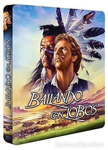 Cine: BAILANDO CON LOBOS Edicion Limitada Numerada METALICA BLU-RAY DISC + DVD + POSTALES Nuevo PRECINTADO - Foto 8 - 237579605