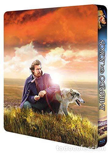Cine: BAILANDO CON LOBOS Edicion Limitada Numerada METALICA BLU-RAY DISC + DVD + POSTALES Nuevo PRECINTADO - Foto 9 - 237579605