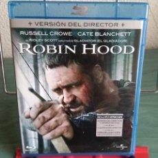 Cine: ROBIN HOOD EN BLU RAY. EDICIÓN 2 DISCOS. // PROMOCIÓN EN LOS ENVÍOS. LEER DESCRIPCIÓN. Lote 186206155