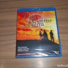 Cine: VIAJE AL CENTRO DE LA TIERRA BLU-RAY DISC JULIO VERNE JAMES MASON NUEVO PRECINTADO. Lote 186392798