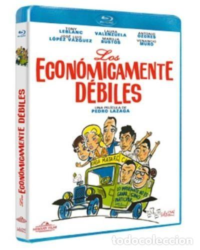 LOS ECONÓMICAMENTE DÉBILES BLURAY (NUEVA). TONY LEBLANC, ANTONIO OZORES, JOSE LUIS LÓPEZ VÁZQUEZ (Cine - Películas - Blu-Ray Disc)