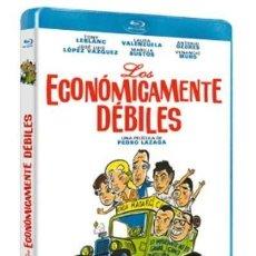 Cine: LOS ECONÓMICAMENTE DÉBILES BLURAY (NUEVA). TONY LEBLANC, ANTONIO OZORES, JOSE LUIS LÓPEZ VÁZQUEZ. Lote 187313652