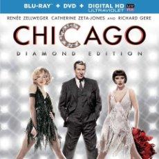 Cine: CHICAGO. DIAMOND EDITION. BLURAY + DVD. EDICIÓN USA. Lote 187442570