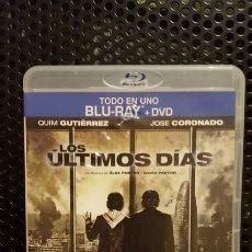 Cine: BLU-RAY + DVD - LOS ULTIMOS DIAS - QUIM GUTIERREZ, JOSE CORONADO. Lote 187504708